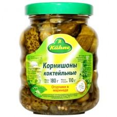 Kuhne корнишоны коктейльные - 180 гр.