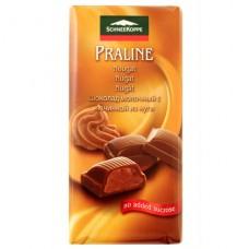 SchneeKoppe шоколад молочный с нугой Nougat - 100 гр.