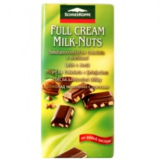 SchneeKoppe шоколад молочный с орехами - 100 гр.