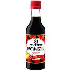 Kikkoman Ponzu Chili Soy Sauce 250 мл.