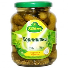 Kuhne корнишоны пикантные - 330 гр.