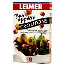 Leimer сухарики со вкусом лука и чеснока - 100 гр.